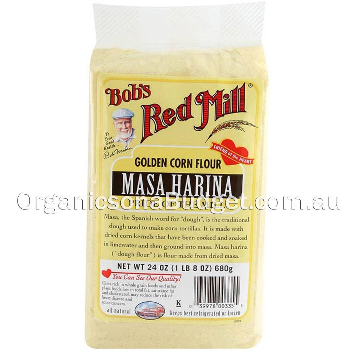 Bobs red mill gluten free masa harina golden corn flour