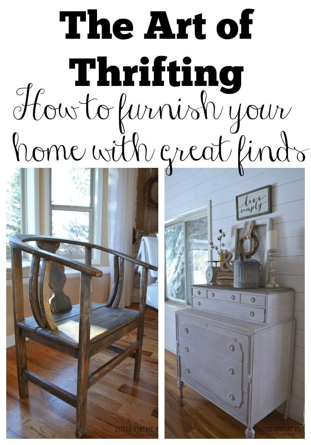 Flea Market Flips · The Art Of Thrifting. How To Furnish Your Home ...