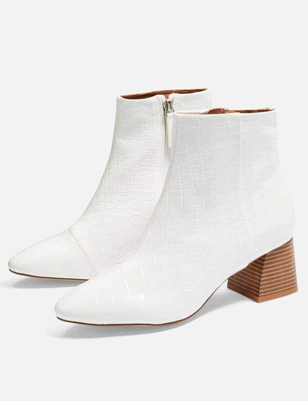 chaussures saison blanche la les en tendance Bottine 2018 de UxEwAvYqq