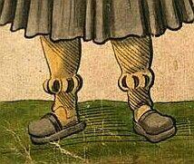 """Christoph Weiditz  Trachtenbuch  [1530/1540].Tracht der Portugiesen - """"Allso gand die Mann gemainclich In Portingall."""" Christoph Weiditz  Trachtenbuch  [1530/1540]"""