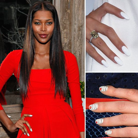 5 Ideas For Wearing The White Nail Polish Trend