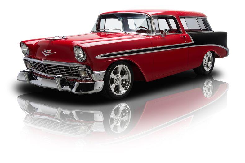 1956 Chevrolet Bel Air Nomad Pro Touring Ls3 V8 4l60e Chevrolet
