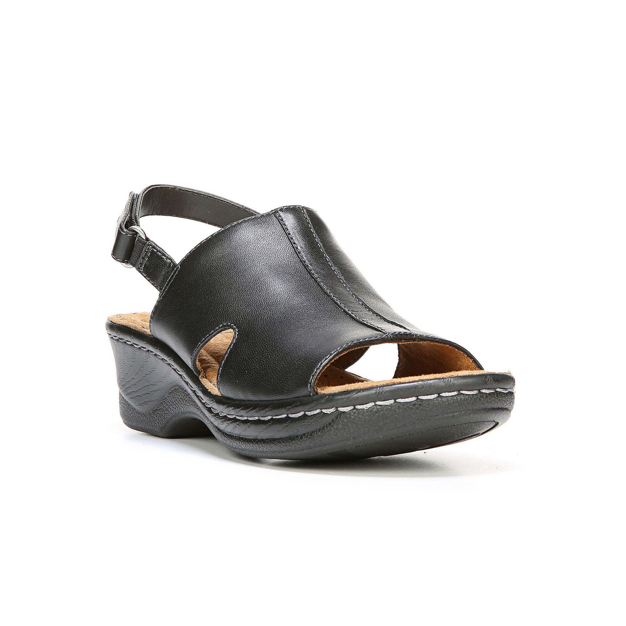 fdb2a8a9f03c NaturalSoul by naturalizer Seleste Women s Leather Wedge Sandals ...