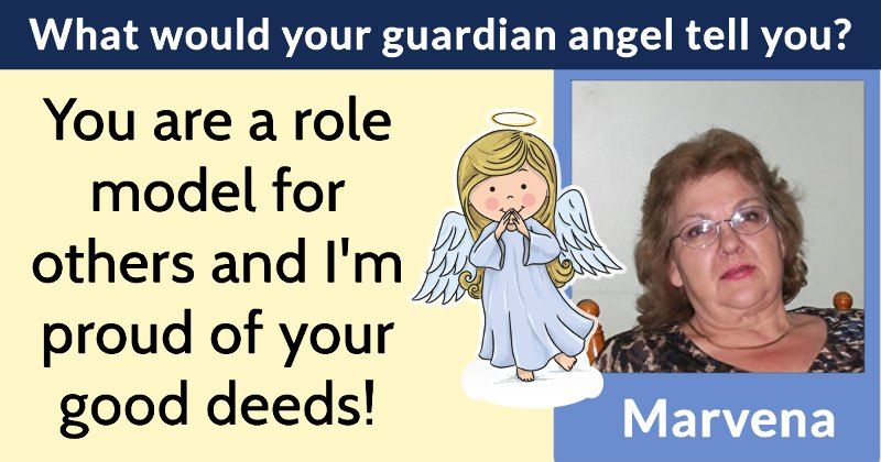 What would your guardian angel tell you? Your guardian