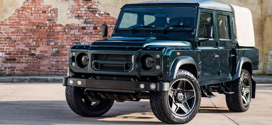 Kahn Reveals Land Rover Defender Front And Side View