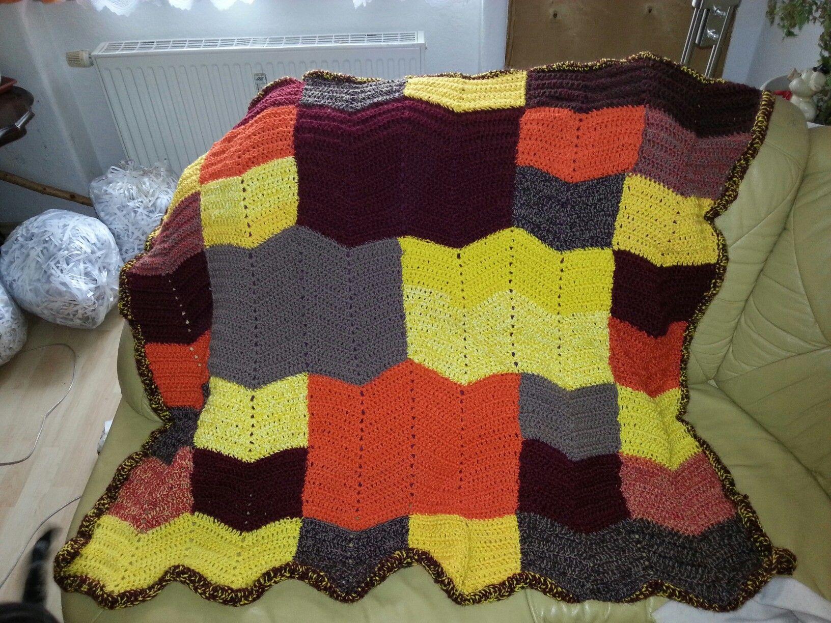 Amazing Häkelntuch Topper Muster Gift - Decke Stricken Muster ...