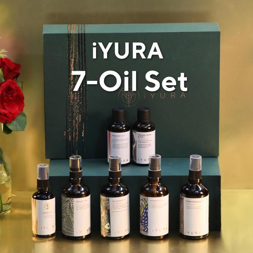 iYURA Tranquiliscence: Calm & Clear Hair-Face-Body Set..