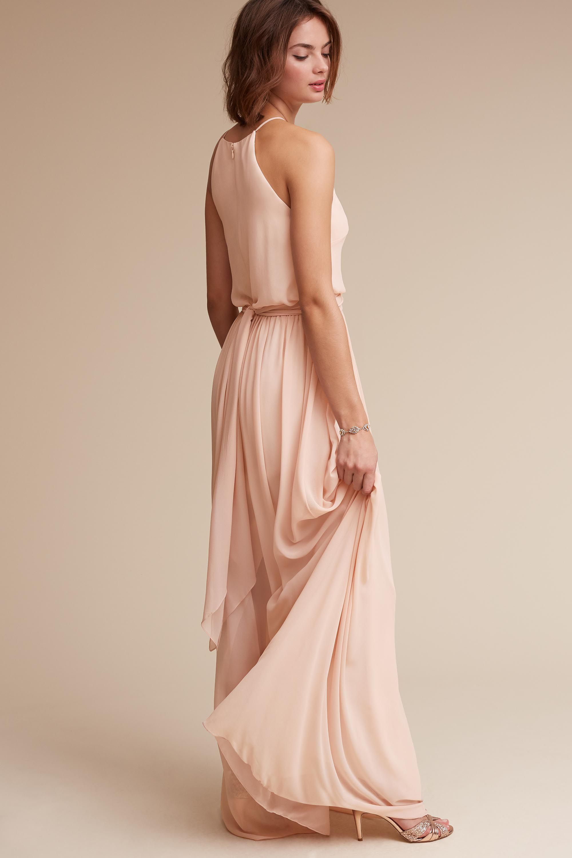 Simple And Elegant Long Bridesmaid Dresses Ideas For Your Best ...