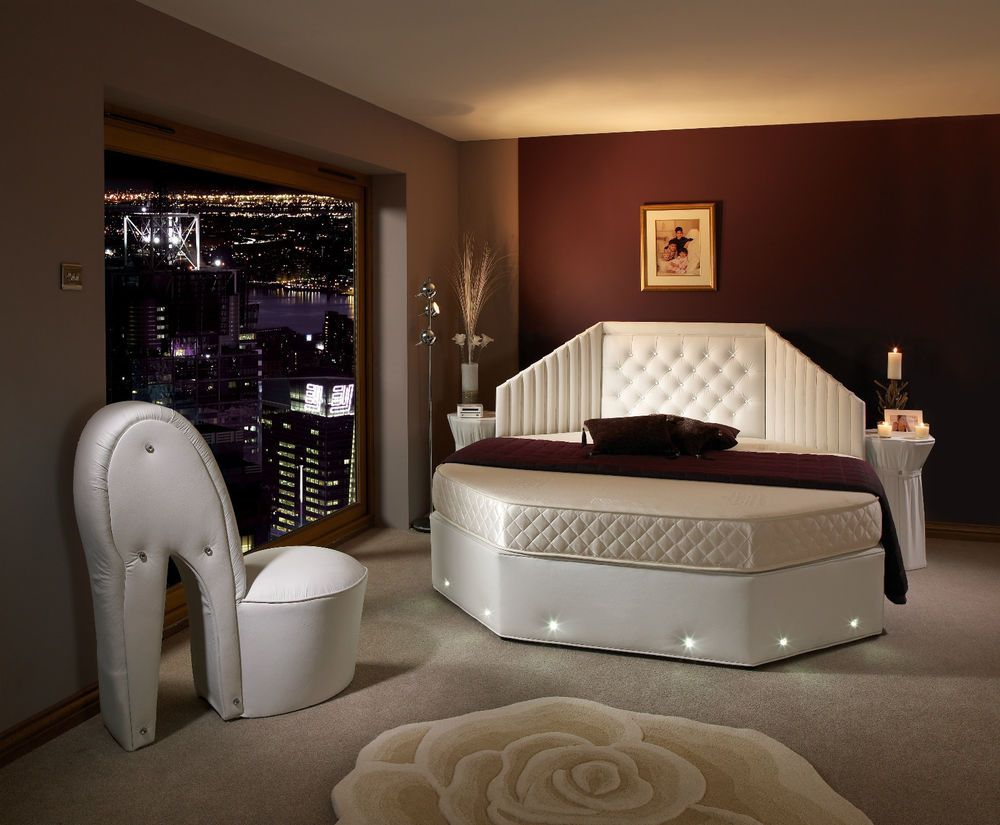 25 magnificent unique rounded bed bedrooms - Circle Beds Furniture