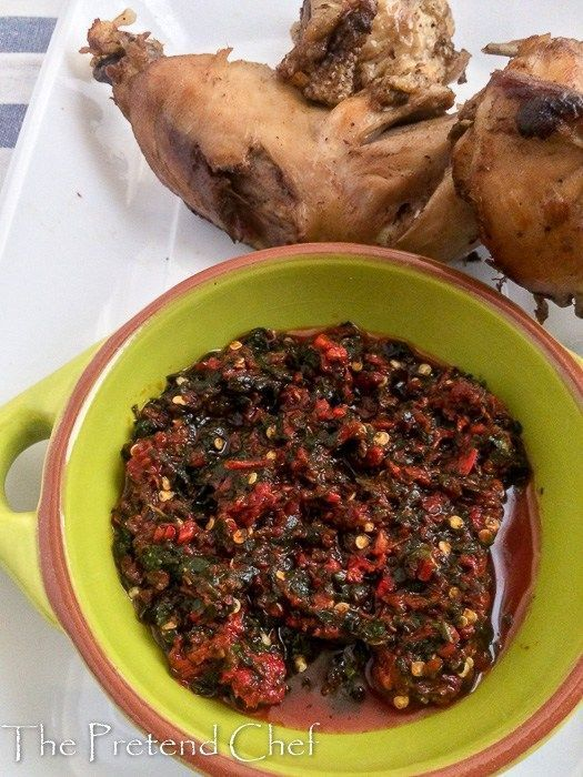Utazi pepper dip is simply what it is utazi Bitter herb and pepper So simple and delicious with meat of any type but especially with fried grilled plain boiled roasted ch...
