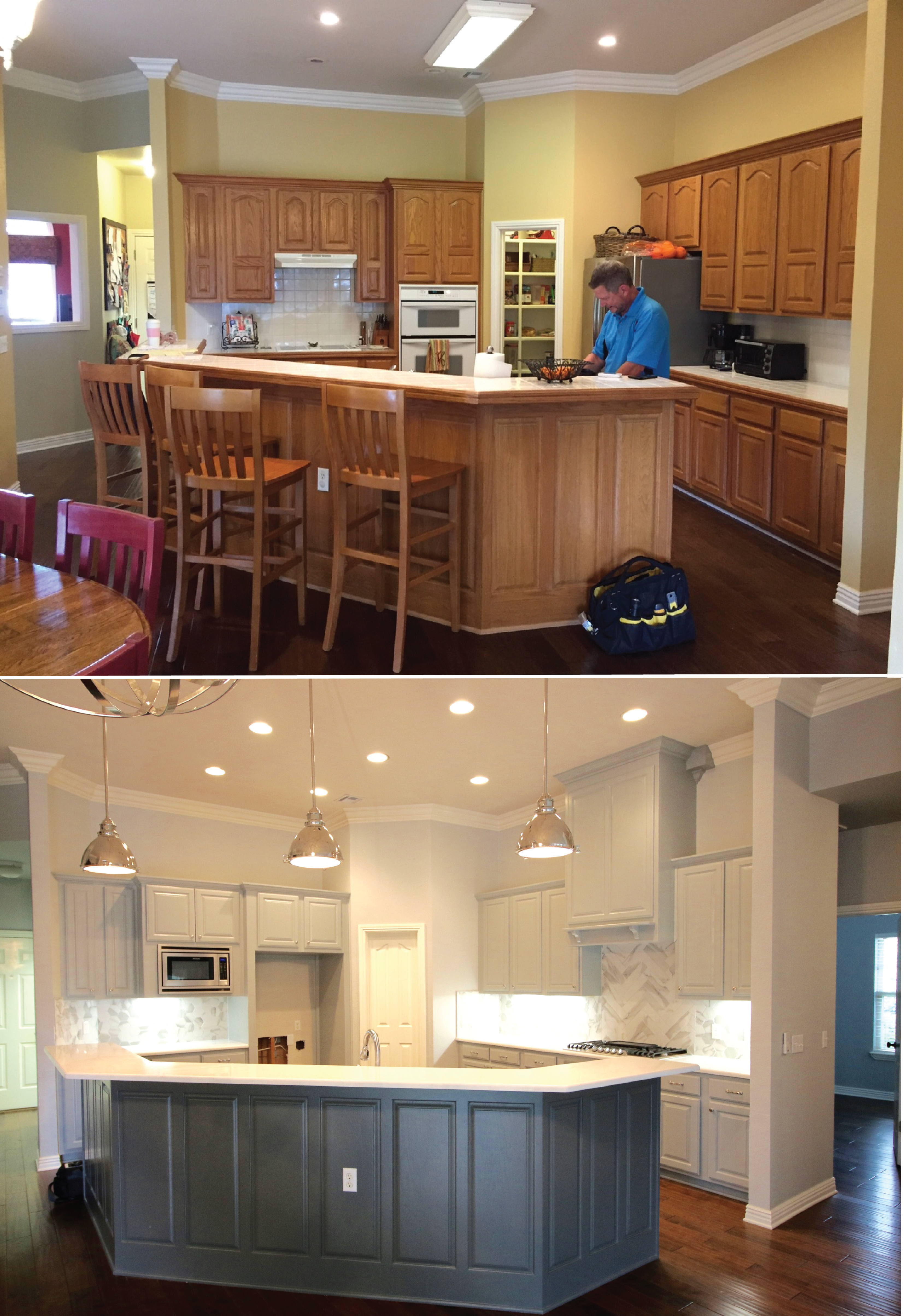 Outstanding Traditional To Modern Farmhouse Remodels Distinctive Home Interior And Landscaping Mentranervesignezvosmurscom