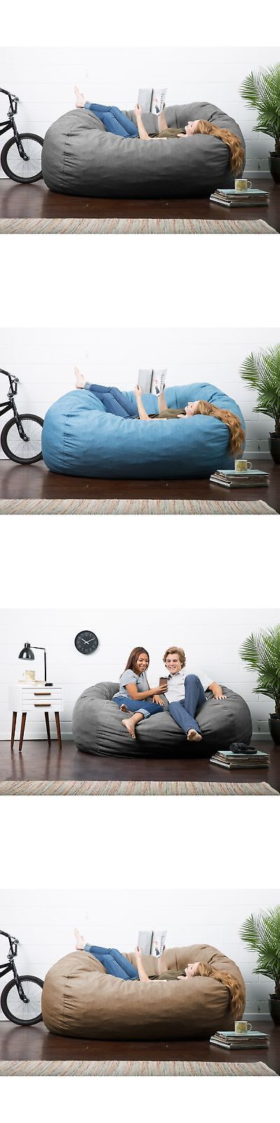 Tremendous Bean Bags And Inflatables 108428 Big Joe Lux Xxl Fuf Chair Unemploymentrelief Wooden Chair Designs For Living Room Unemploymentrelieforg