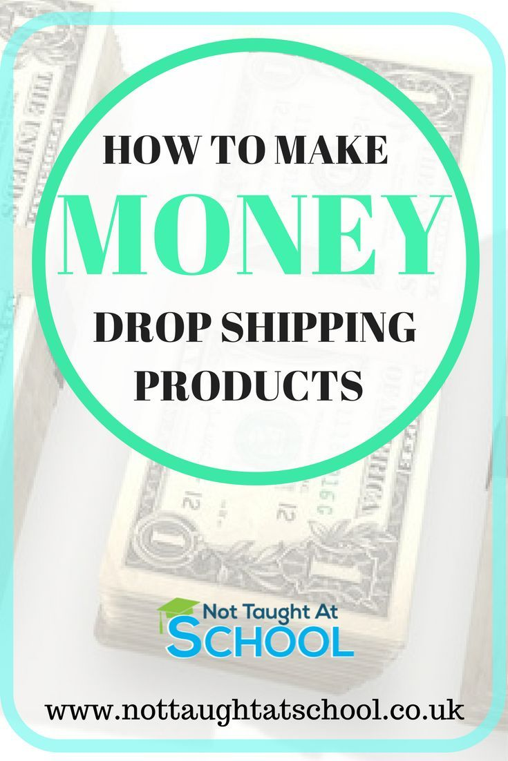 How to make money drop shipping products, this quick and easy guide ...