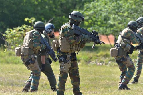Belgian Special Forces.