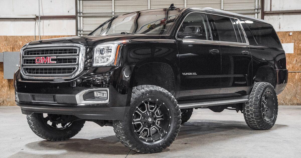 Sold Stock 9546 Lifted 2016 Gmc Yukon Xl 4x4 Sle Gmc Yukon Xl Gmc Yukon Lifted Truck
