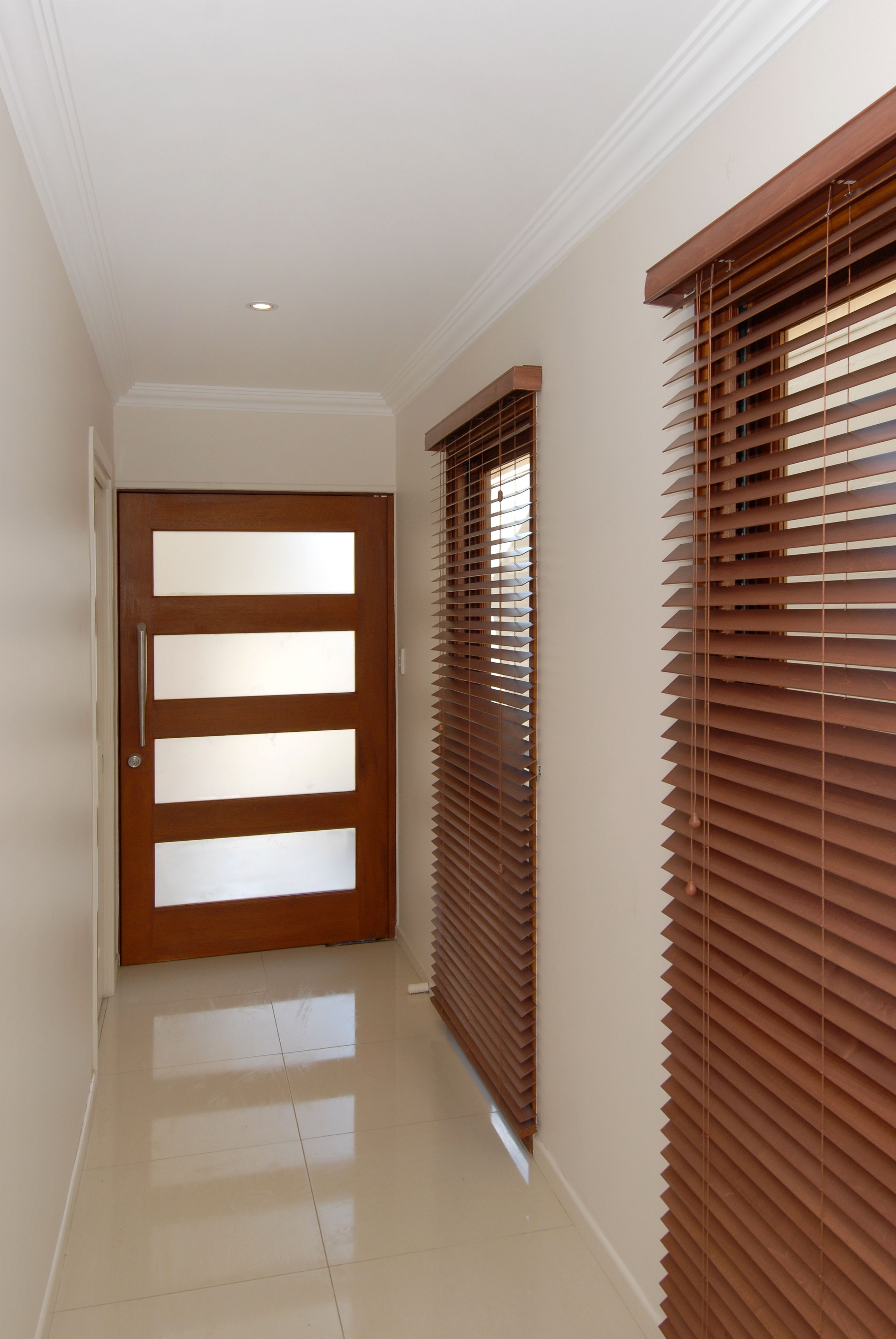Solid Timber 4 Lite Pivot Entry Door