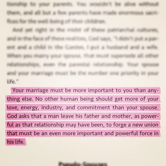 Timothy Keller Meaning Of Marriage Thinking Of The Babe And Hubs
