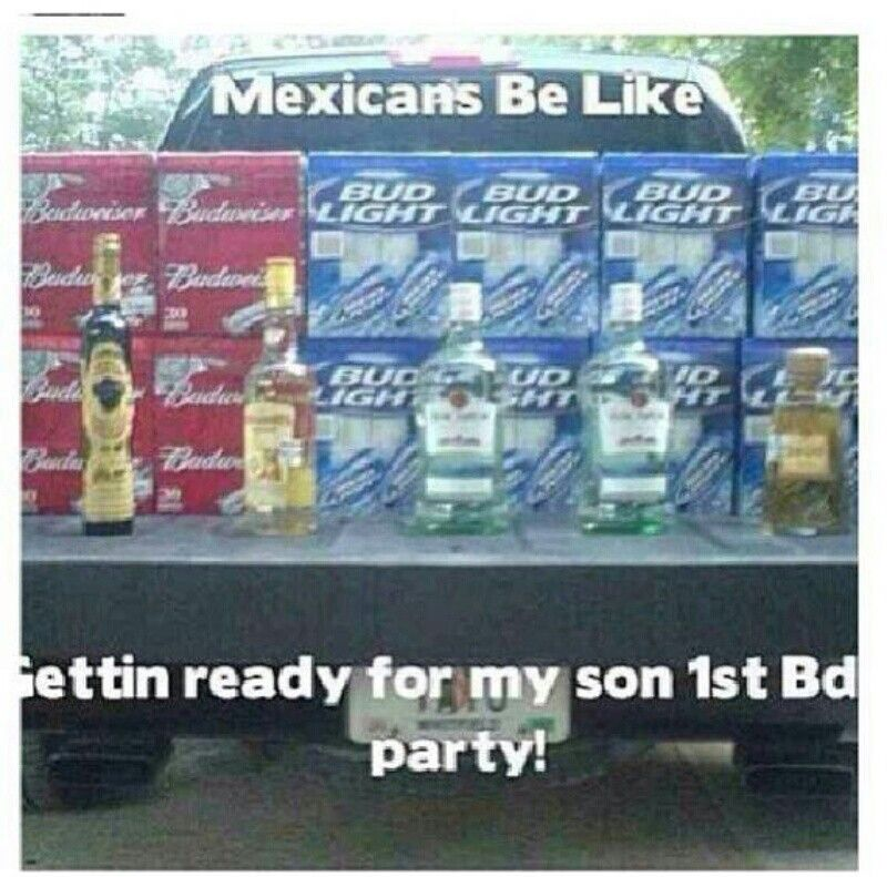 Mexicans Be Like..Getting Ready For My Son's FIRST