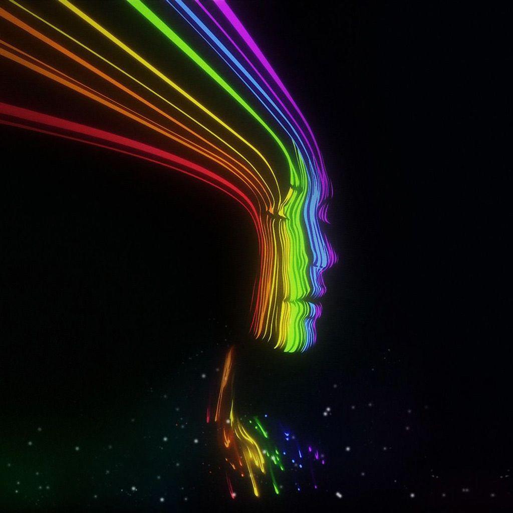 Interesting intreeging abstract artwork abstract neon