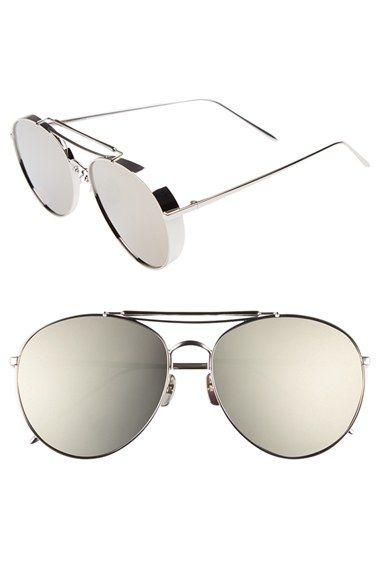 86149ae687 Gentle Monster 60mm Aviator Sunglasses