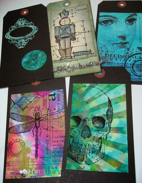 inkypinkycraft: inky fun and finding my mojo with Creative Chemistry 102 #4; Oct 2013