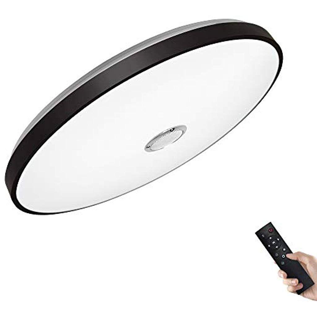 Jdong Bluetooth Deckenleuchte Mit Fernbedienung Und Bluetooth Lautsprecher 36w O 50cm Fur Wohnzim In 2020 Deckenleuchte Mit Fernbedienung Beleuchtung Decke Beleuchtung