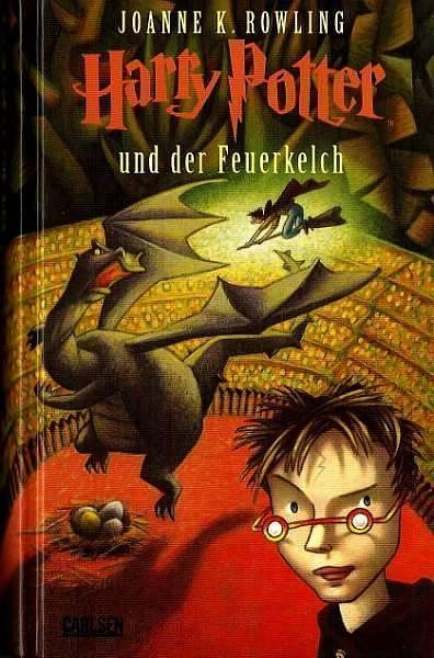 Harry Potter And The Goblet Of Fire Germany Harry Potter Book Covers Harry Potter Books Rowling Harry Potter