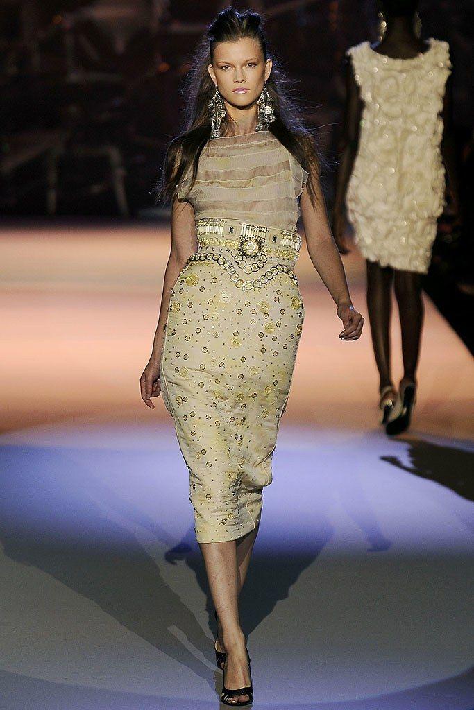 Zac Posen Spring 2009 Ready-to-Wear Fashion Show - Kasia Struss