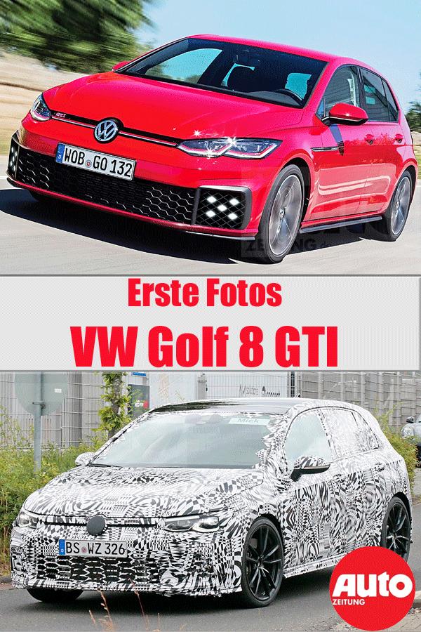 Vw Golf 8 Gti 2020 Erste Fotos Vw Golf 8 Golf Autozeitung