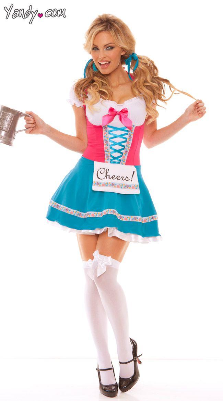Bavarian Beer Babe Costume Stuff i want Pinterest Costumes - hot halloween ideas