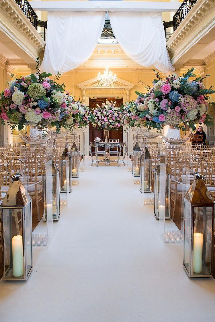 Amazing aisle from wedding at Hedsor with the team at ...
