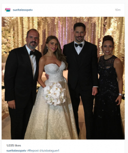 Celebrity Wedding Dresses of 2015