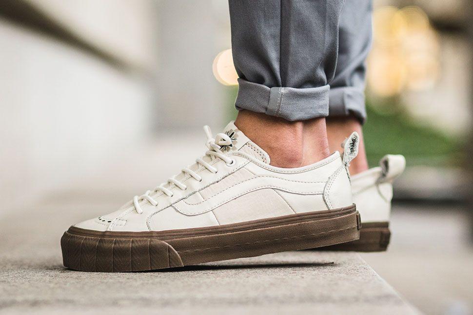 "Vans Vault Court Lo LX ""Marshmellow†x Taka Hayashi - EU Kicks: Sneaker  Magazine"