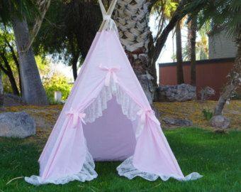 Purpleholic Kids teepee tent/kids play tent/girls by TucsonTeepee & Purpleholic teepee kids Teepee tipi Play tent wigwam or ...