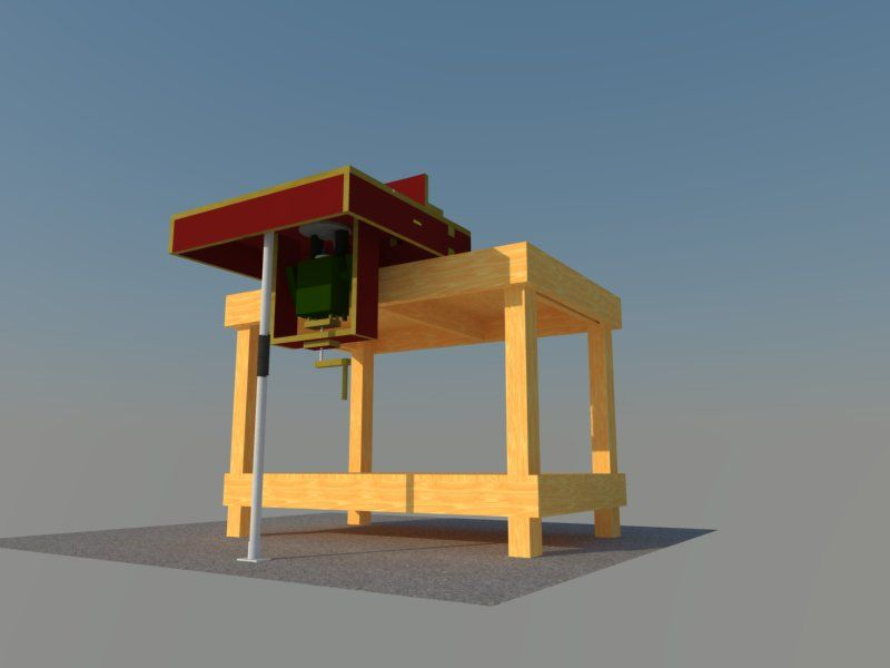 mobiler frstisch bauanleitung zum selberbauen 12 t. Black Bedroom Furniture Sets. Home Design Ideas