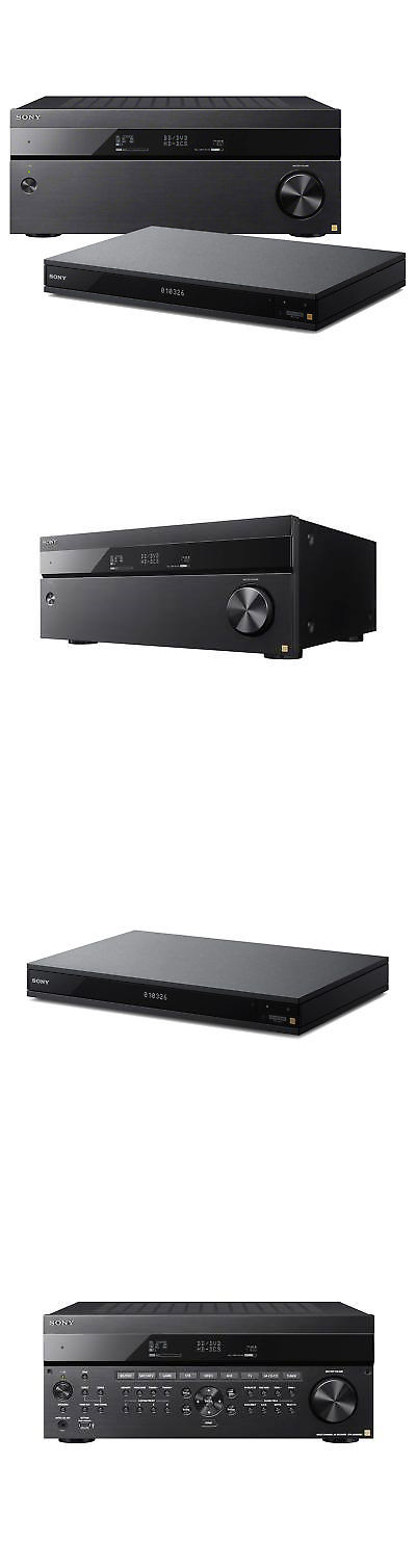 sony ubp x1000es. stereo receivers: sony str-za810es av receiver and ubp-x1000es blu ray ubp x1000es d