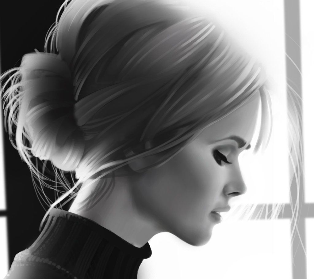 Woman Profile Woman Profile Study By Andrecastelo On Deviantart