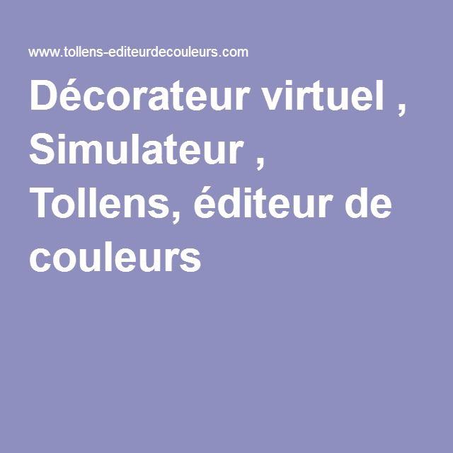 Décorateur Virtuel , Simulateur , Tollens, éditeur De Couleurs