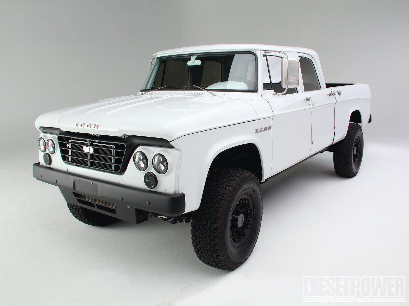 1965 icon dodge diesel power magazine icon makes some amazing vehicles