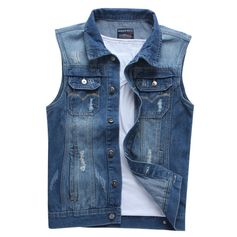 3953244cc25ca3 School Boy Sleeveless Summer Denim Jacket Price  42.90   FREE Shipping Pin  it! Share