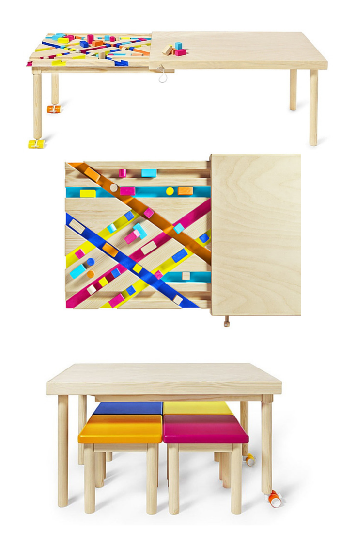 Bawa A Multifunctional Table For Kids Multifunctional