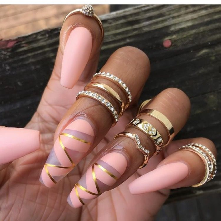 Pin by Shynice Trimmer on Nails❤   Pinterest   Nail nail, Coffin ...