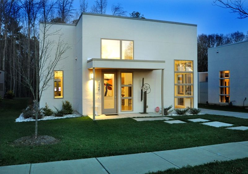 Minimalist modern home in charlotte nc from move modern