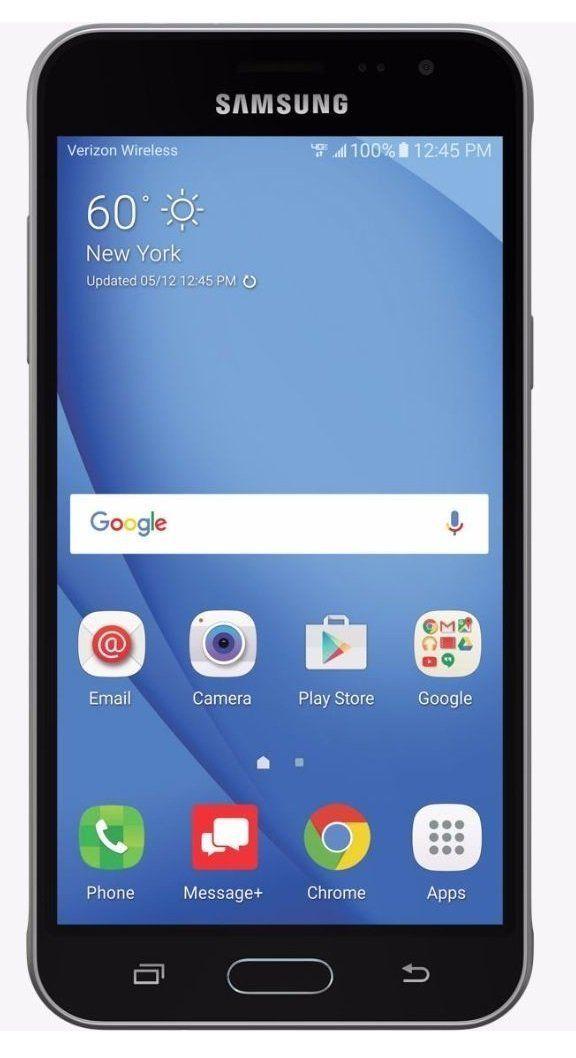 Samsung Galaxy J3 (2016) J320V Verizon CDMA 4G LTE Quad