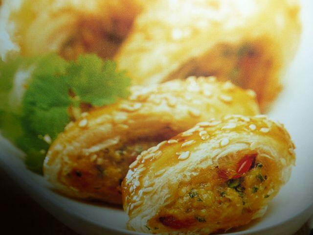 un mondo di ricette: cucina thaiandese - rotolo di pollo