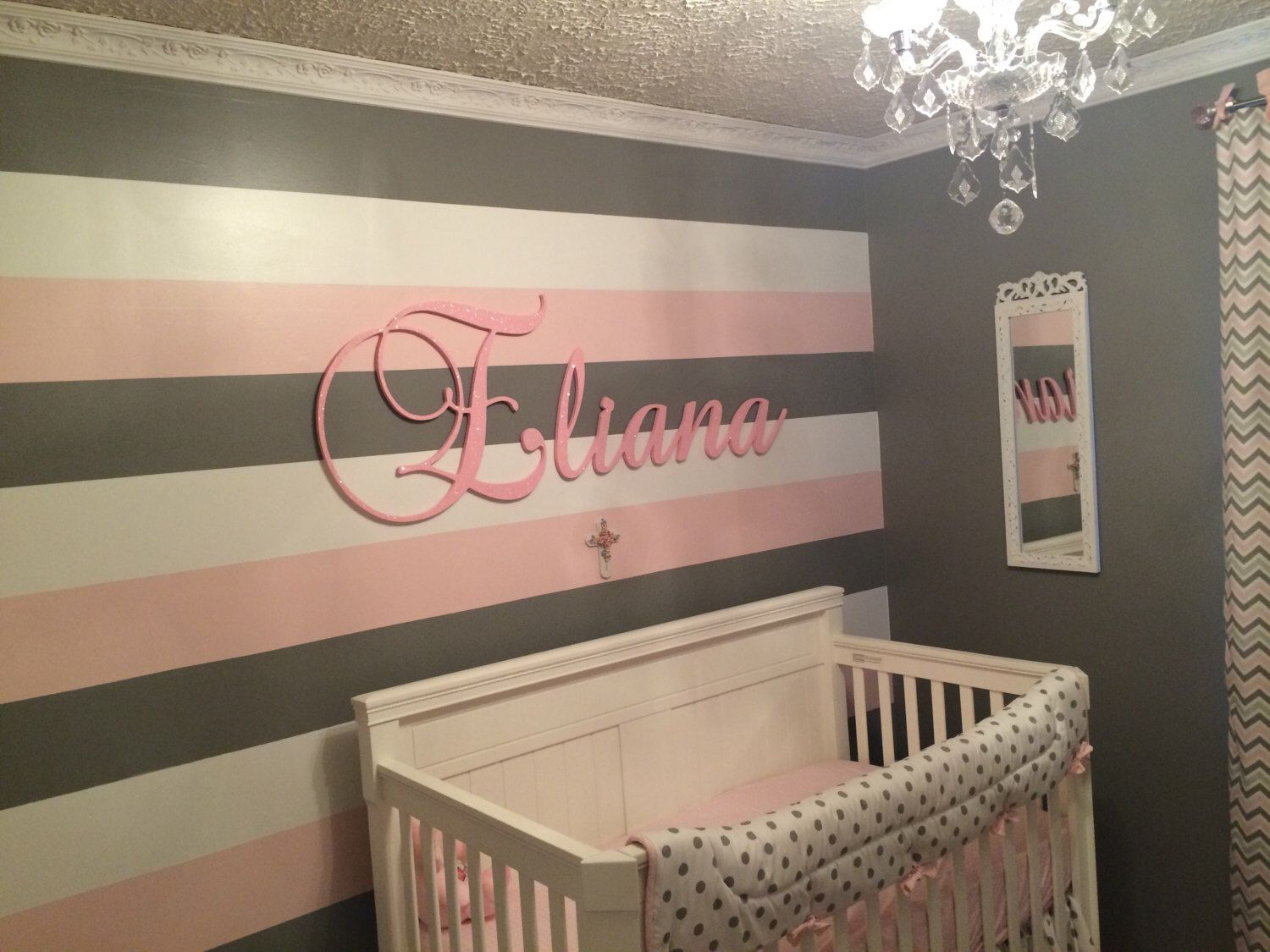 Baby Nursery Letters Wall Wooden For