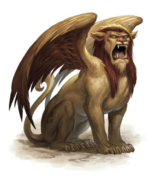 Monster Manual Sphinx Mythical Creatures Fantasy Creatures Fantasy Monster
