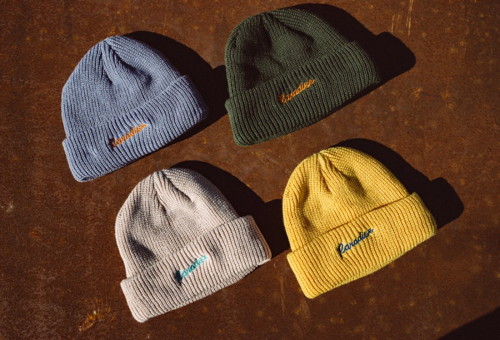 Beanie Paradise Garden Club Beanie Knitted Hats Winter Hats