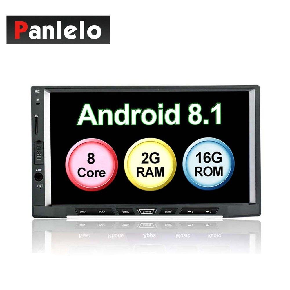 Panlelo S15 Android 8 1 Car Radio Stereo Octa Core 2g 16g Gps Navigation Am Fm Rds Auto Radio 7 Inch Ips Capacitive Touch S Gps Navigation Navigation Car Radio