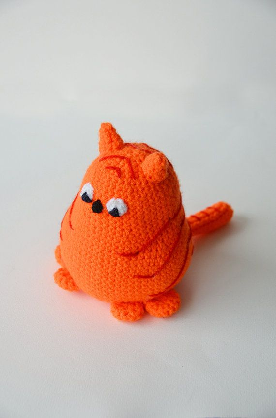 Little Fat Cat Crochet Pattern, Cat Amigurumi Pattern, Amigurumi Cat ...
